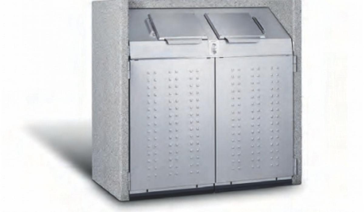 Afvalcontainerkast silent 1100