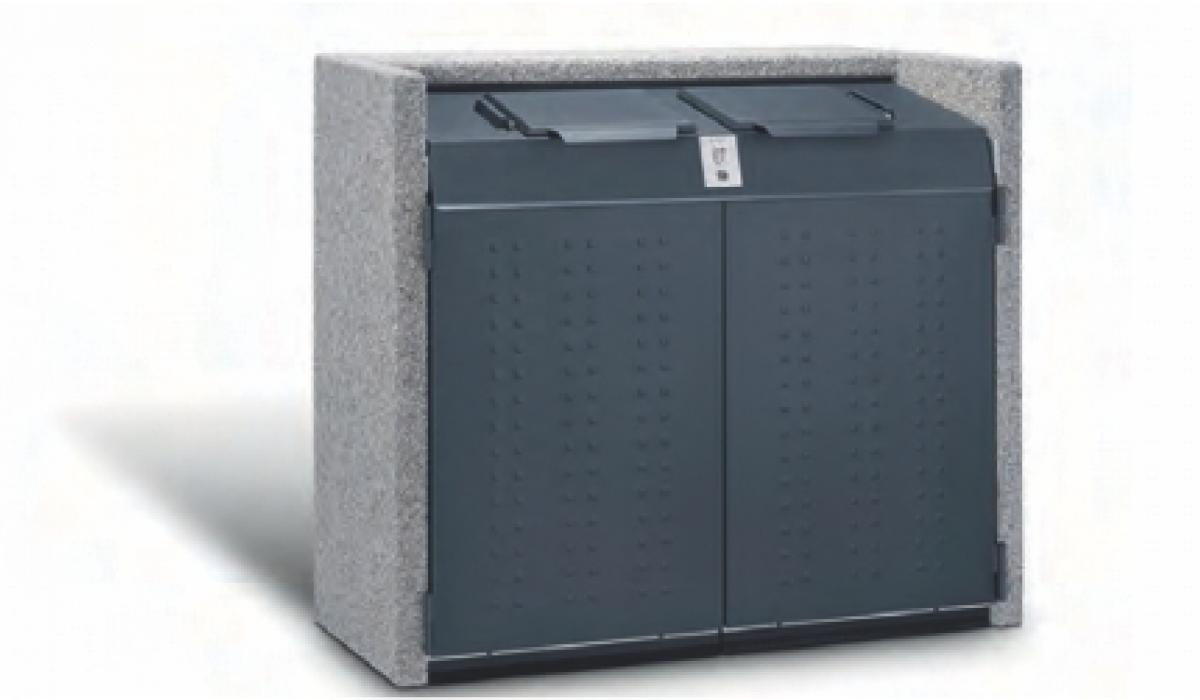 Afvalcontainerkast silent 800