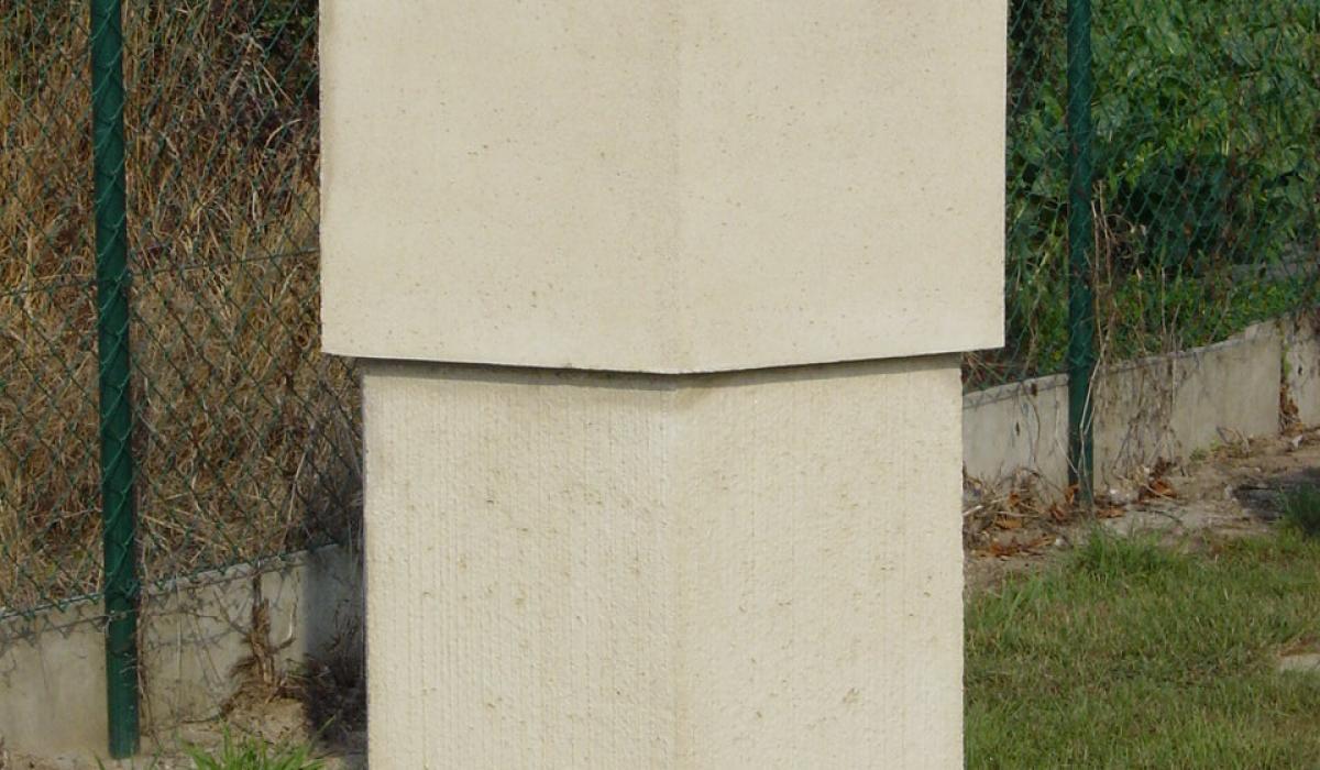 Herdenkingszuil voor strooiweides | Colonne commémorative