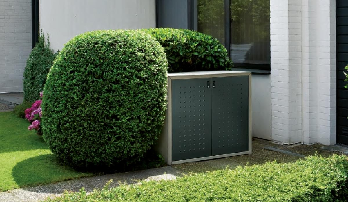 Afvalcontainerkast silent serie 240