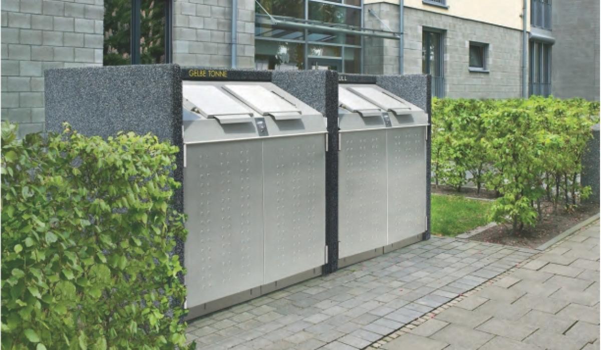 Afvalcontainerkast silent serie 800
