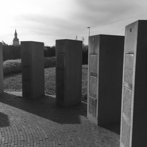 Inrichting Begraafplaats met Columbariumzuilen