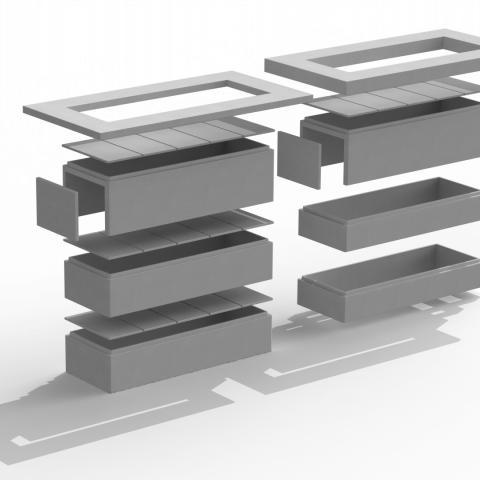 Osiris modulart grafkelders
