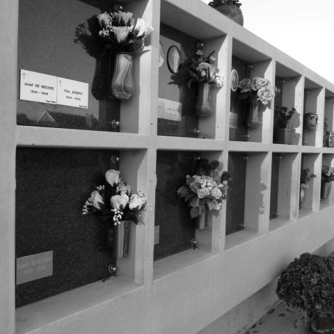 Inrichting Begraafplaats met Columbariumwand